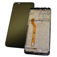 Дисплей Asus ZenFone Max Pro M1 ZB601KL / ZB602KL с сенсором и рамкой, черного цвета (оригинальные комплектующие)