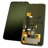 Дисплей Meizu 16X M872Q с сенсором, черный (оригинал Китай)