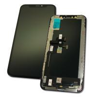 Дисплей iPhone XS с сенсором и рамкой, черный (копия AAА)