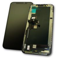 Дисплей iPhone XS с сенсором и рамкой, черный (оригинальные комплектующие)