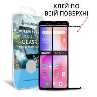 Защитное стекло MakeFuture для Xiaomi Mi Mix 3 полноэкранное черное