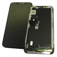 Дисплей iPhone X с сенсором и рамкой, черный / OLED (копия ААА)