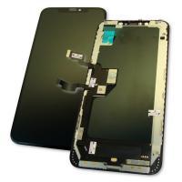 Дисплей iPhone XS Max с сенсором и рамкой, черный (оригинальные комплектующие)
