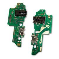 Разъем зарядки Huawei Honor 7X на плате + разъем под наушники и микрофон (копия AAА)