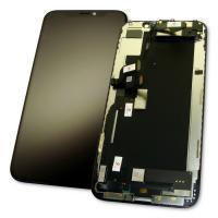 Дисплей iPhone XS с сенсором и рамкой, черный (оригинал 100%)