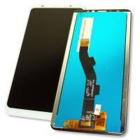 Дисплей Meizu M8 M813H / V8 M813Q с сенсором, белый (оригинальные комплектующие)