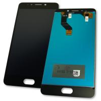 Дисплей Meizu M6 Note M721L с сенсором, черный (оригинальные комплектующие)