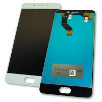 Дисплей Meizu M6 Note M721L с сенсором, белый (оригинальные комплектующие)