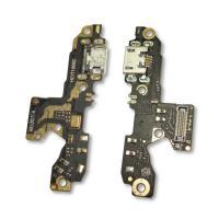 Разъем зарядки Xiaomi Redmi 7 на плате с микрофоном и компонентами (копия AAA)
