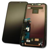 Дисплей iPhone 11 с сенсором и рамкой, черный (оригинал)