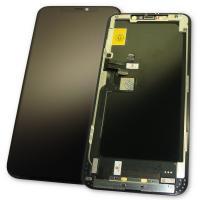 Дисплей iPhone 11 Pro Max с сенсором и рамкой, черный (оригинал)