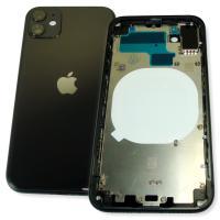 Корпус iPhone 11 полный комплект, черный (оригинальные комплектующие)