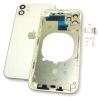 Корпус iPhone 11 полный комплект, белый (оригинальные комплектующие)