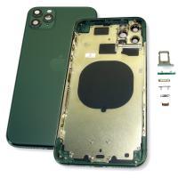 Корпус iPhone 11 Pro Max тёмно зелёный (полный комплект)