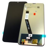Дисплей Xiaomi Redmi 9 с сенсором, черный (оригинальные комплектующие)