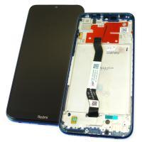 Дисплей Xiaomi Redmi Note 8T с сенсором и рамкой синего цвета (оригинал 100%)