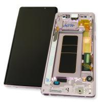 Дисплей Samsung N960F / Galaxy Note 9 с сенсором и рамкой фиолетового цвета GH97-22269E (оригинал 100%)