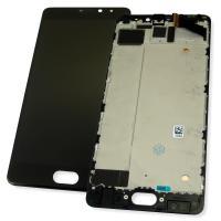 Дисплей Meizu Pro 7 Plus с сенсором и рамкой, черный (оригинал Китай)