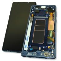 Дисплей Samsung N960F Galaxy Note 9 с сенсором и рамкой синего цвета GH97-22269B (оригинал 100%)