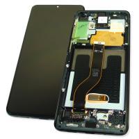 Дисплей Samsung G985F Galaxy S20 Plus с сенсором и рамкой черного цвета GH82-22134A (оригинал 100%)