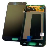 Дисплей Samsung G920F Galaxy S6 с сенсором, синего цвета GH97-17260D (оригинал 100%)