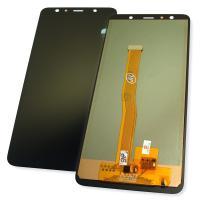 Дисплей Samsung A750F A750G Galaxy A7 2018 TFT с сенсором, черный (копия ААА)