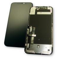 Дисплей iPhone 11 с сенсором и рамкой, черный (оригинал 100%)
