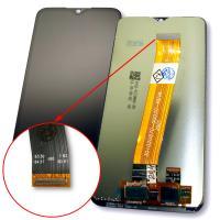 Дисплей Samsung A015 Galaxy A01 2019 с сенсором, шлейф с узким коннектором, черный (оригинал Китай)