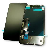 Дисплей iPhone XR с сенсором и рамкой, черный (оригинал 100%)