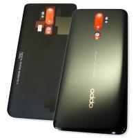 Стекло задней крышки Oppo A5 2020 / A9 2020 черное (оригинал Китай)