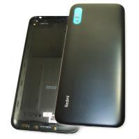 Задняя крышка, корпус Xiaomi Redmi 9A серого цвета (оригинал Китай)