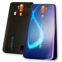 Стекло задней крышки Oppo A5 2020 / A9 2020 синее (оригинал Китай)