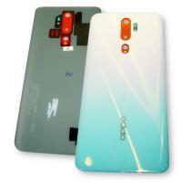 Стекло задней крышки Oppo A5 2020 / A9 2020 бирюзового цвета (оригинал Китай)