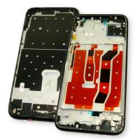 Рамка дисплея с подложкой Huawei P40 Lite черная (оригинал Китай)