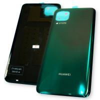 Стекло задней крышки Huawei P40 Lite зелёного цвета (оригинал Китай)