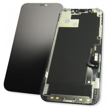 Дисплей iPhone 12 / 12 Pro с сенсором и рамкой, черный (оригинал)