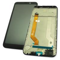 Дисплей Meizu C9 / C9 Pro с сенсором и рамкой, черный (оригинал 100%)