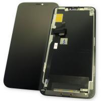 Дисплей iPhone 11 Pro Max с сенсором и рамкой, черный (оригинальные комплектующие)