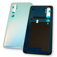 Стекло задней крышки Xiaomi Mi Note 10 / Mi Note 10 Pro белое (оригинальные комплектующие)