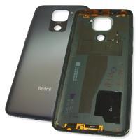 Задняя крышка, корпус Xiaomi Redmi Note 9 серого цвета (оригинал Китай)