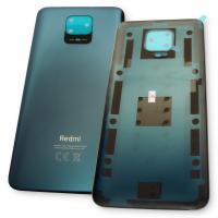 Стекло задней крышки Xiaomi Redmi Note 9S / Redmi Note 9 Pro серого цвета (оригинал Китай)