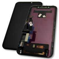 Дисплей iPhone XR с сенсором и рамкой, черный (копия)