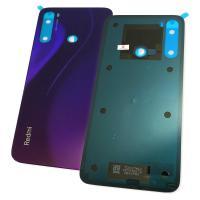 Стекло задней крышки Xiaomi Redmi Note 8 фиолетовое (оригинал Китай)