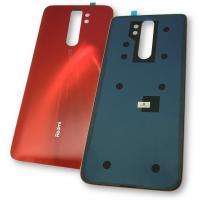 Стекло задней крышки Xiaomi Redmi Note 8 Pro оранжевое (Twilight Orange)