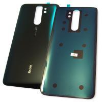 Стекло задней крышки Xiaomi Redmi Note 8 Pro зелёное (Deep Sea Blue)