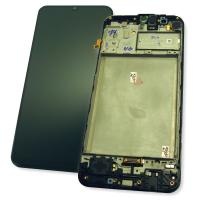 Дисплей Samsung M315F Galaxy M31 с сенсором и рамкой, черный GH82-22405A / GH82-22631A (оригинал 100%)