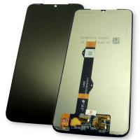 Дисплей Motorola Moto G8 Plus с сенсором, черный (оригинальные комплектующие)