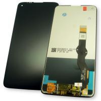 Дисплей Motorola Moto G8 Power с сенсором, черный (оригинальные комплектующие)