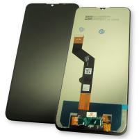 Дисплей Motorola Moto G9 Play с сенсором, черный (оригинальные комплектующие)