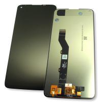 Дисплей Motorola Moto G9 Plus с сенсором, черный (оригинальные комплектующие)